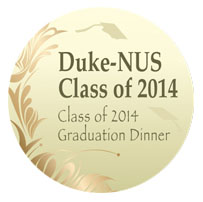 DUKE-NUS 2014 Graduation Dinner...