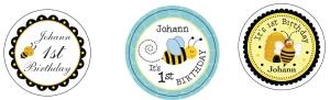 Johann 1st Bday