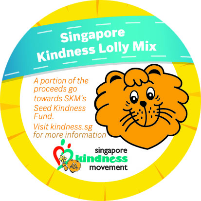 Singapore Kindness Lolly Mix