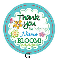 Teachers' Day 32mm Sticker Label... by LollyTalk