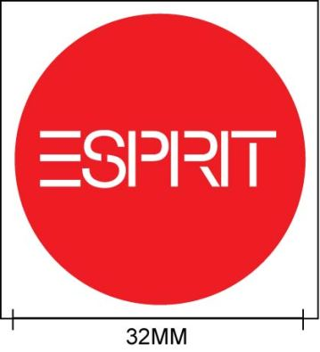 ESPRIT 32mm round label